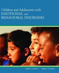 Children and Adolescents with Emotional and Behavioral Disorders 1st Edition 9780205501762 0205501761