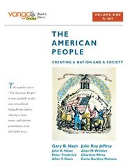 The American People 1st edition 9780205642823 0205642829