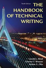 Handbook of Technical Writing 10th Edition 9781250004413 1250004411