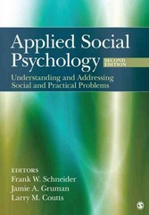Applied Social Psychology 2nd edition 9781412976381 1412976383