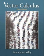 Vector Calculus 4th edition 9780321780652 0321780655