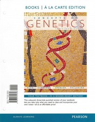 Concepts of Genetics, Books a la Carte Edition 10th edition 9780321754356 0321754352