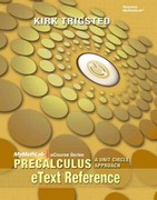 eText Reference for Trigsted Precalculus 1st Edition 9780321736833 0321736834