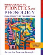 Introduction to Phonetics and Phonology: From Concepts to Transcription and DVD Package 1st Edition 9780205627158 0205627153