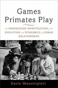 Games Primates Play 1st Edition 9780465020782 046502078X