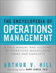 The Encyclopedia of Operations Management 1st Edition 9780132883702 0132883708