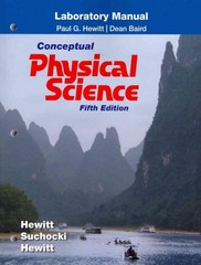 Laboratory Manual for Conceptual Physical Science 5th edition 9780321776570 0321776577