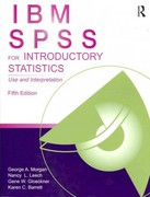 IBM SPSS for Introductory Statistics 5th Edition 9781848729827 1848729820