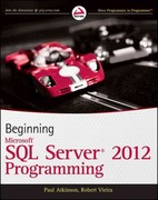 Beginning Microsoft SQL Server 2012 Programming 1st Edition 9781118102282 1118102282