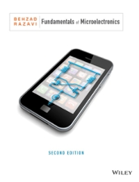 Fundamentals of Microelectronics 2nd Edition 9781118156322 1118156323