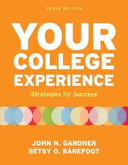 Your College Experience 10th edition 9780312602543 0312602545