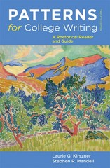 Patterns for College Writing 12th Edition 9780312623074 0312623070