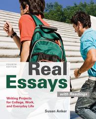 Real Essays with Readings 4th edition 9780312648084 0312648081
