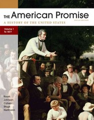 The American Promise 5th Edition 9780312663131 0312663137