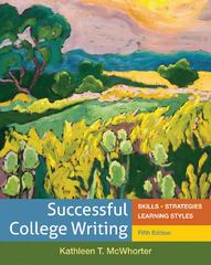 Successful College Writing 5th Edition 9780312676087 0312676085