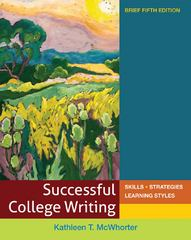 Successful College Writing Brief 5th Edition 9780312676094 0312676093