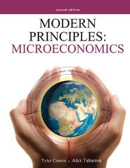 Modern Principles: Microeconomics 2nd edition 9781429239998 1429239999