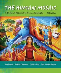 The Human Mosaic 12th Edition 9781429240185 1429240180