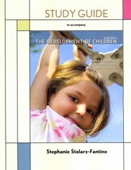 Development of Children Study Guide 7th edition 9781429243322 1429243325