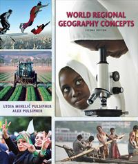 World Regional Geography Concepts 2nd Edition 9781429253666 1429253665