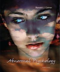 Abnormal Psychology 8th edition 9781429282543 1429282541