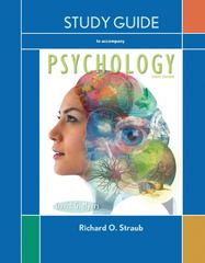 Study Guide to accompany Psychology 10th edition 9781429299640 1429299649