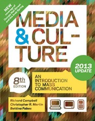 Media and Culture with 2013 Update 8th edition 9781457604911 1457604914