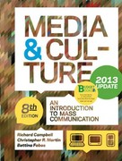 Media and Culture, Update 8th edition 9781457605260 1457605260