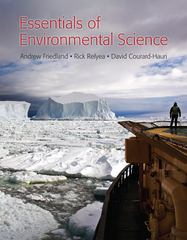 Essentials of Environmental Science 1st edition 9781464100758 1464100756