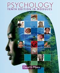 Psychology in Modules 10th edition 9781464102615 1464102619
