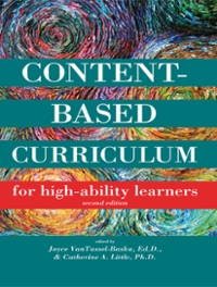 Content-Based Curriculum for High-Ability Learners 2nd Edition 9781593635282 1593635281