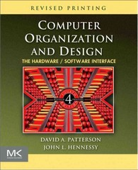 Computer Organization and Design 4th edition 9780123747501 0123747503