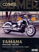 Clymer Yamaha Road Star, 1999-2007 2nd edition 9781599694153 1599694158