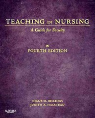 Teaching in Nursing 4th Edition 9781455705511 1455705519