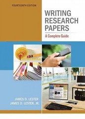 Writing Research Papers 14th edition 9780205236411 0205236413