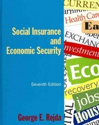 Social Insurance and Economic Security 7th Edition 9781317459743 1317459741