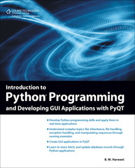 Introduction to Python Programming and Developing GUI Applications with PyQT 1st Edition 9781435460973 1435460979