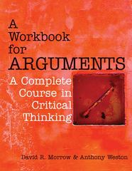 A Workbook for Arguments 1st Edition 9781603845496 1603845496