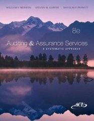 Auditing and Assurance Services 8th Edition 9780078025433 0078025435