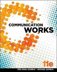 Communication Works 11th Edition 9780078036811 007803681X