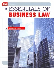 Essentials of Business Law 8th Edition 9780073511856 0073511854