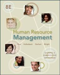 Human Resource Management 8th edition 9780078029257 0078029252
