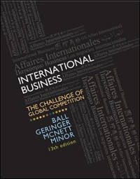 International Business 13th Edition 9780078112638 007811263X