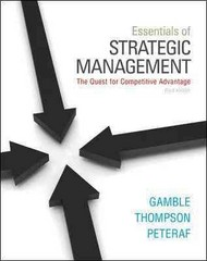 Essentials of Strategic Management 3rd edition 9780078029288 0078029287