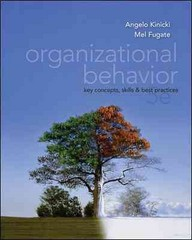 Organizational Behavior 5th edition 9780078137204 0078137209