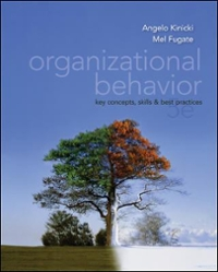 Organizational Behavior with Connect Plus 1st Edition 9780077890445 0077890442