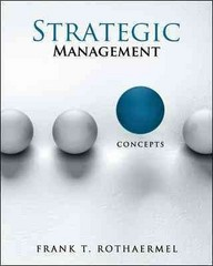 Strategic Management 1st edition 9780077324452 0077324455