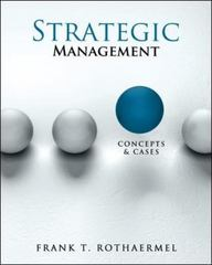 Strategic Management 1st edition 9780078112737 0078112737