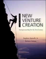 New Venture Creation 9th edition 9780078029103 0078029104