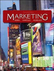 Marketing 11th edition 9780078028892 0078028892